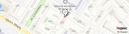 Барс и К на карте Омска