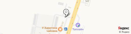 Оптово-розничная фирма на карте Троицкого