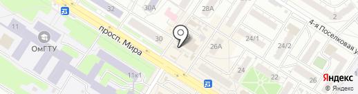 Мастерская по ремонту обуви и изготовлению ключей на карте Омска