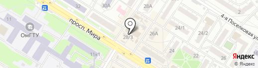 the beer & vape на карте Омска