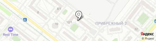 Строитель Плюс на карте Омска