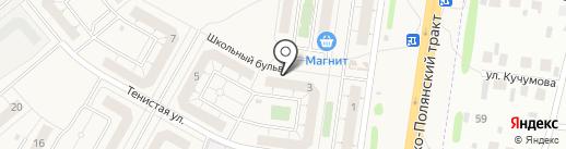 Магазин товаров для детей на карте Троицкого