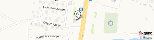 Лучок на карте Троицкого