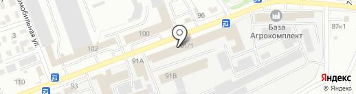 ТЕХКОМПЛЕКТ на карте Омска