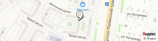 Магазин фруктов и овощей на карте Троицкого