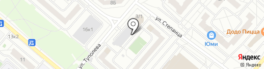Автопрофи55 на карте Омска