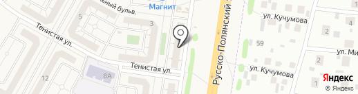 Участковый пункт полиции №23 на карте Троицкого