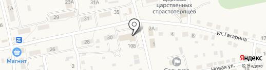 Анастасия на карте Новоомского