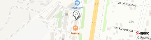 Брусника на карте Троицкого