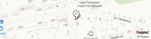 Торговый комплекс на карте Новоомского
