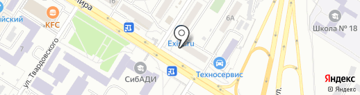 Точка на карте Омска