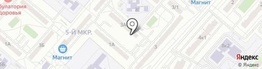Научно-технический центр на карте Омска