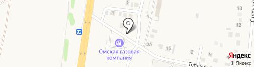 Продуктовый магазин на карте Троицкого