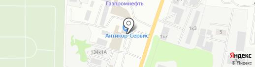 Кафе на карте Омска