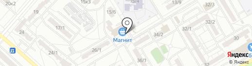 Мастерская по ремонту обуви на карте Омска