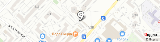 Ермолино на карте Омска