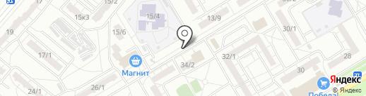 Тюкалинский на карте Омска