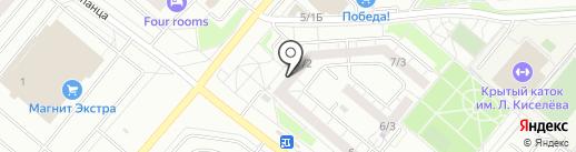 Семейная на карте Омска