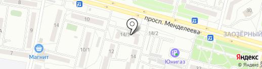 ХЭНДИКРАФТ на карте Омска