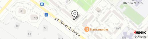 АКИ на карте Омска