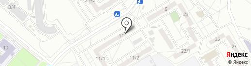 Радуга на карте Омска
