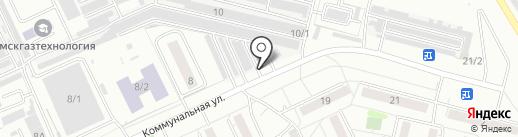 Шиномонтажная мастерская на карте Омска