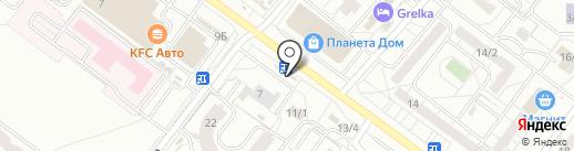 СПАРК на карте Омска