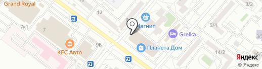 BABY ROOM на карте Омска