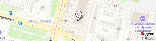 Белёвские сласти на карте Омска