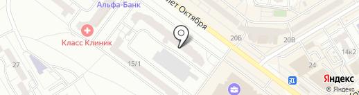Студия танцев Станислава Полякова на карте Омска