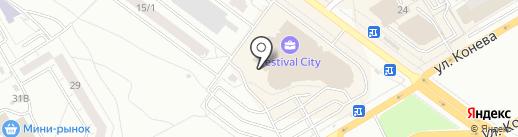 ЭЛЕМЕНТ на карте Омска
