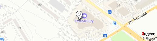 Эрнест на карте Омска