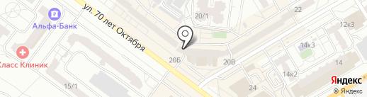 Мочуева З.И. на карте Омска
