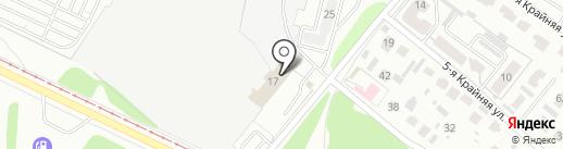 Омский эвакуатор на карте Омска