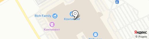 АВАКС на карте Омска