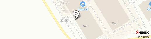 Золотая Капитель на карте Омска