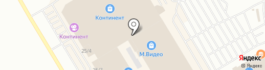 Навигатор на карте Омска