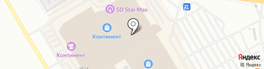 Матрешка на карте Омска