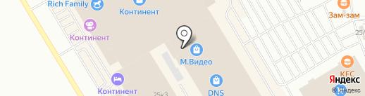Дисконтный меховой салон на карте Омска