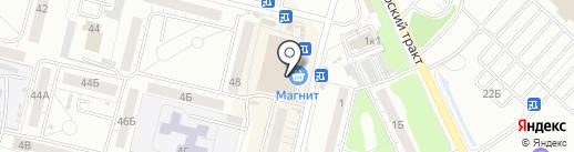 Перевозчик на карте Омска