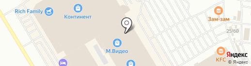 Avanti на карте Омска
