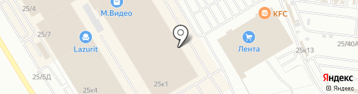 АкваМебель на карте Омска