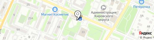 Незабудка на карте Омска