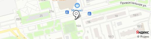 Фея на карте Сургута