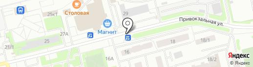 Магазин хозяйственных товаров на карте Сургута