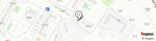 Комфорт, ЖСК на карте Омска