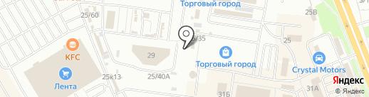 Компания по надомному обслуживанию на карте Омска