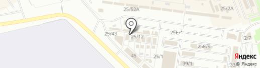 Магазин автоэмалей на карте Омска