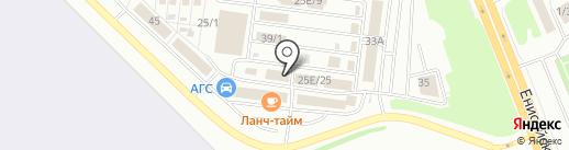 Розничная компания на карте Омска