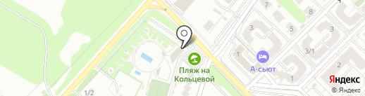 Берёзовый на карте Омска